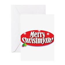 Cute Atheist christmas Greeting Card