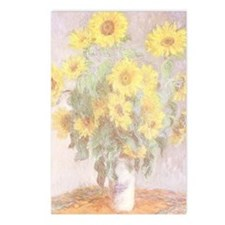 BOUQUET OF SUNFLOWERS Postcards (8 Pk)