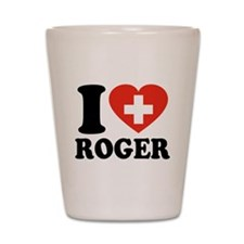 Love Roger Shot Glass