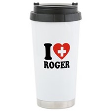 Love Roger Ceramic Travel Mug