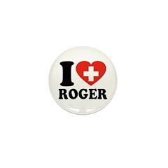 Love Roger Mini Button