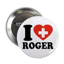 "Love Roger 2.25"" Button"