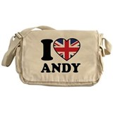 Love Andy Messenger Bag