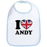 Love Andy Bib
