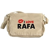 Rafa Lips Messenger Bag