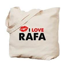 Rafa Lips Tote Bag