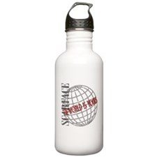 The World Is Yours Water Bottle
