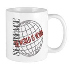 The World Is Yours Small Mugs