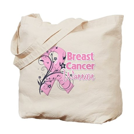 Breast Cancer Warrior Tote Bag