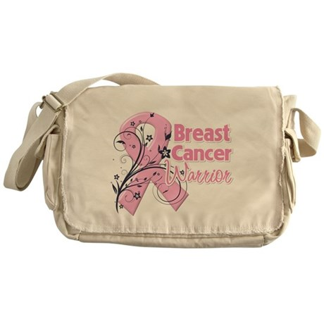 Breast Cancer Warrior Messenger Bag