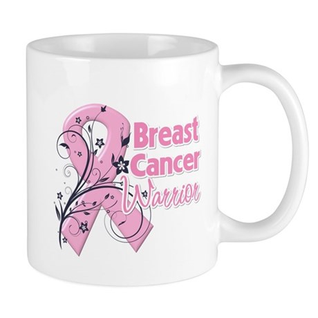 Breast Cancer Warrior Mug