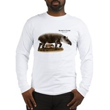 Baird's Tapir Long Sleeve T-Shirt