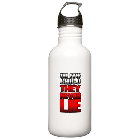 The Eyes Never Lie Stainless Water Bottle 1 Liter