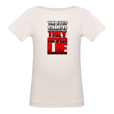 The Eyes Never Lie Organic Baby T-Shirt