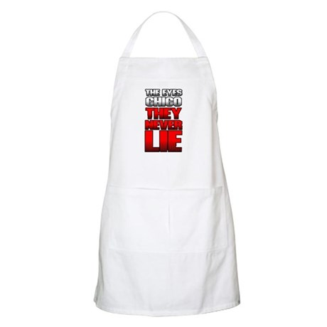The Eyes Never Lie Apron