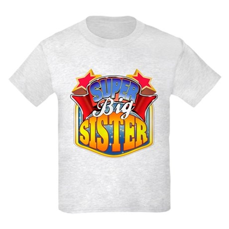 Super Big Sister Kids Light T-Shirt
