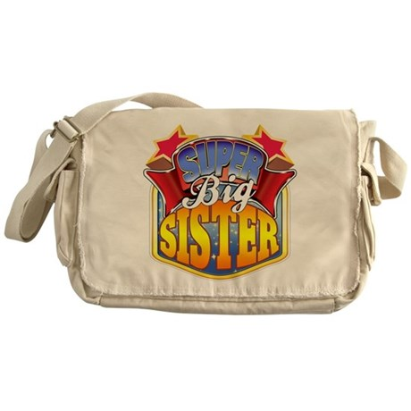 Super Big Sister Messenger Bag