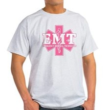 Star of Life EMT - pink T-Shirt