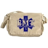 Star of Life EMT (blue) Messenger Bag