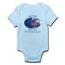 9-11 Not Forgotten Infant Bodysuit