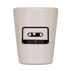 Cassette Tape Shot Glass