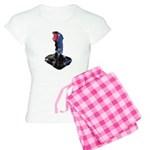 Worn Retro Joystick Women's Light Pajamas
