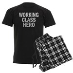 Working Class Hero Men's Dark Pajamas