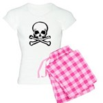 Skull and Crossbones Women's Light Pajamas