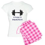 Gym Work In Progress Distress Women's Light Pajama