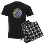 Yin Yang Earth Men's Dark Pajamas