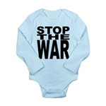 Stop The War Long Sleeve Infant Bodysuit