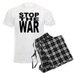 Stop The War Men's Light Pajamas