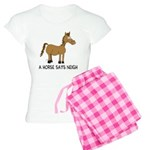 A Horse Says Neigh Women's Light Pajamas