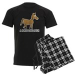 A Horse Says Neigh Men's Dark Pajamas