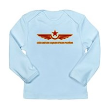 Russian CCCP Long Sleeve Infant T-Shirt