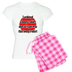 Lousy T-shirt Women's Light Pajamas