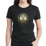 Thors Hammer rune shield Tee