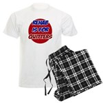 Rehab is for Quitters Men's Light Pajamas