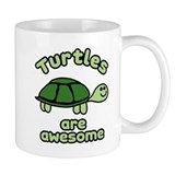 Turtles are Awesome Small Mug