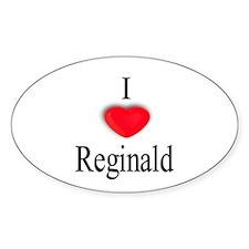 Reginald Oval Decal