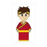 Cute Roman Emperor Sticker (50 Pk)