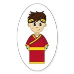 Cute Roman Emperor Sticker