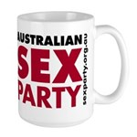 Sex Party Bold Large Mug