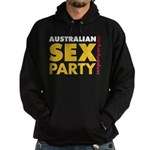 Sex Party Bold Hoodie (dark)