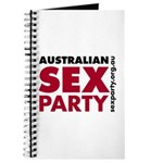 Sex Party Bold Journal