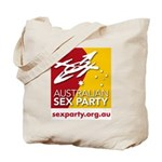 Australian Sex Party Tote Bag