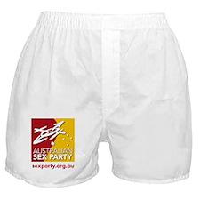 Australian Sex Party Boxer Shorts