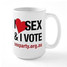 I love Sex Coffee Mug