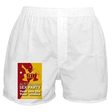 Your Sex LIfe Your Choice Boxer Shorts