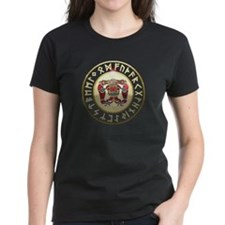 sutton hoo rune shield Tee